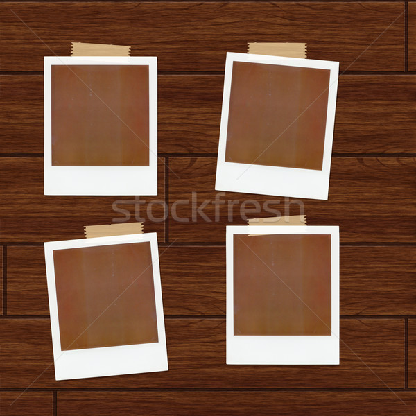Ilustracja ściany film ramki retro Zdjęcia stock © simas2