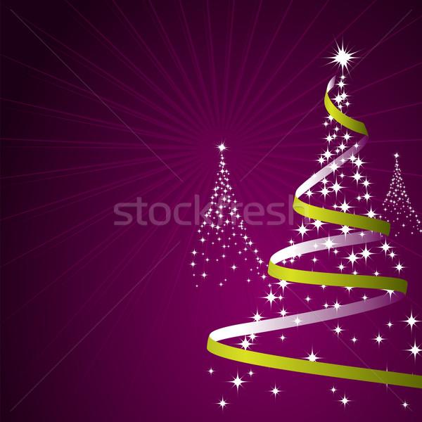 Christmas Background (Vector) Stock photo © simas2
