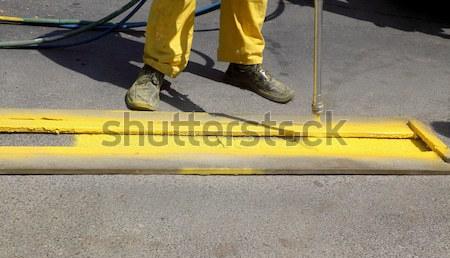 Street marking Stock photo © simazoran