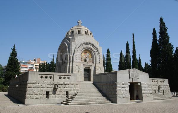 кладбище военных первый Мир войны Салоники Сток-фото © simazoran