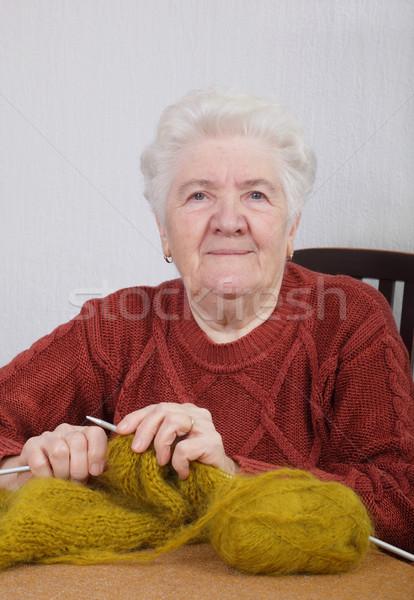 Old lady Stock photo © simazoran