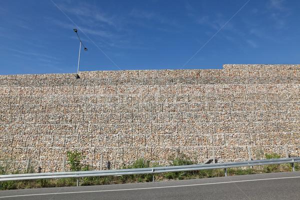 út sóder acél háló használt autópálya Stock fotó © simazoran