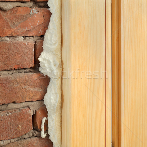Polyurethane for door or window install  Stock photo © simazoran