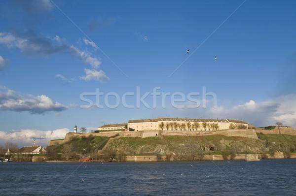 Danúbio castelo sair festival paisagem azul Foto stock © simazoran