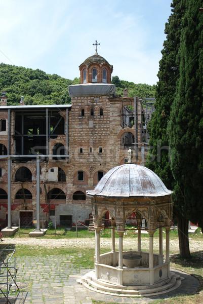 Monastery Hilandar Stock photo © simazoran
