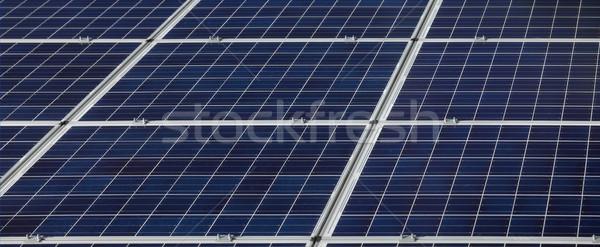 Solar energy panels Stock photo © simazoran