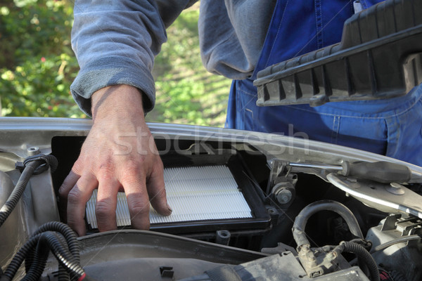 Car mechanic Stock photo © simazoran