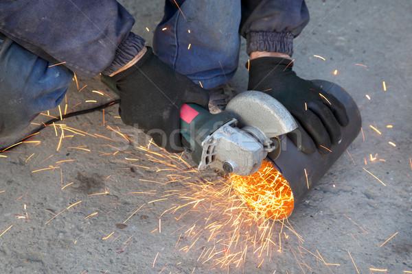Hand tool for grinding Stock photo © simazoran