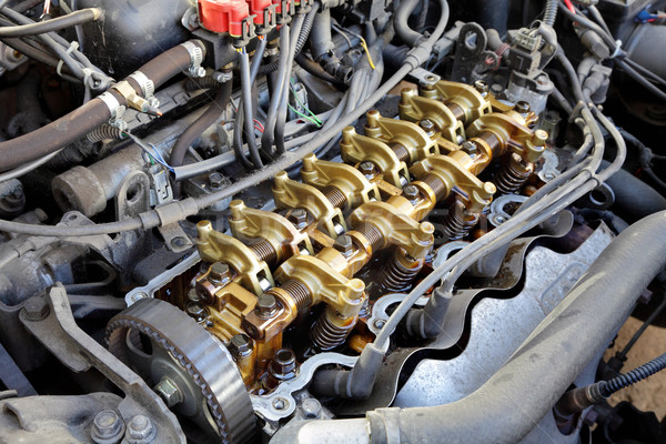 Modern engine Stock photo © simazoran