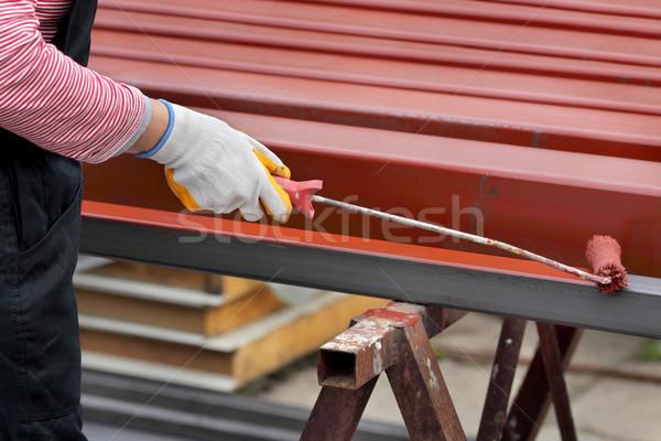 Paint roller Stock photo © simazoran