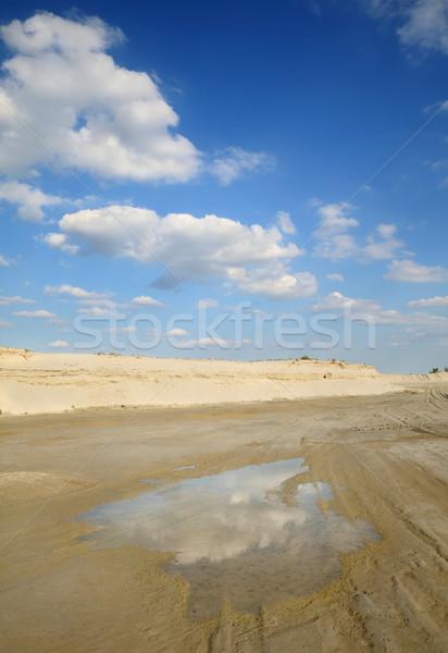 Sand exploiting Stock photo © simazoran