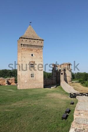 セルビア ヨーロッパ 中世 破壊された 18世紀 ストックフォト © simazoran