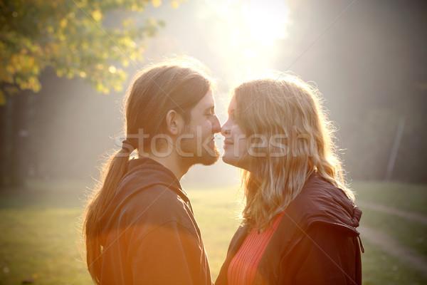 Romantic couple Stock photo © simazoran