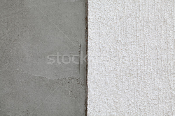 Polystyrene insulation of wall layers Stock photo © simazoran