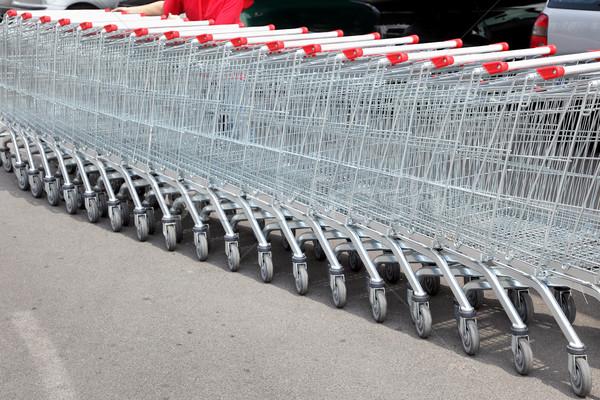 Shoppingcarts Stock photo © simazoran