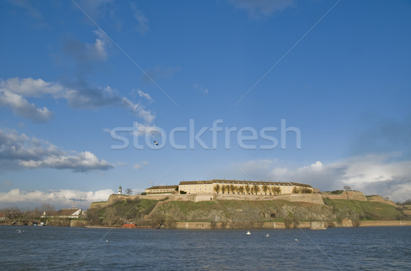 Petrovaradin Danube Stock photo © simazoran