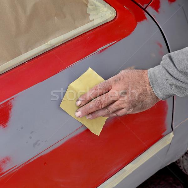Car painting Stock photo © simazoran