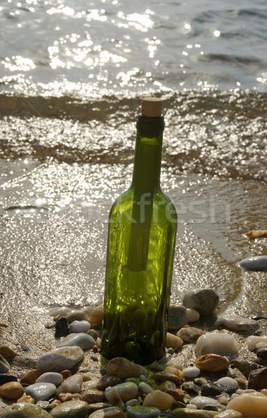 Bottle with message Stock photo © simazoran