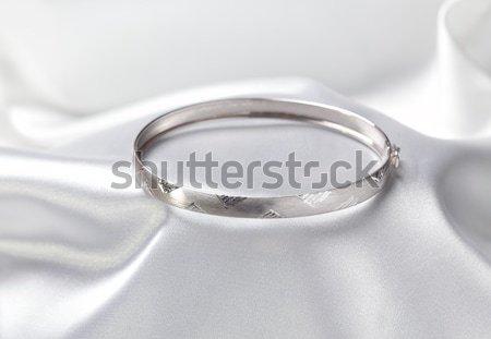 ювелирные фото браслет белый Сток-фото © simazoran