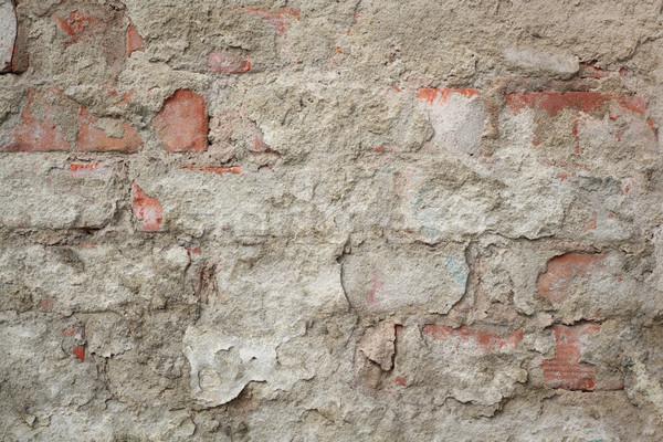 Closeup of dirty old damaged wall Stock photo © simazoran