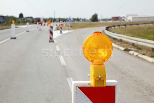 Road construction Stock photo © simazoran