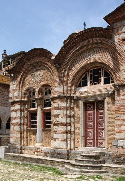 Mosteiro antigo ortodoxo Grécia agora Foto stock © simazoran