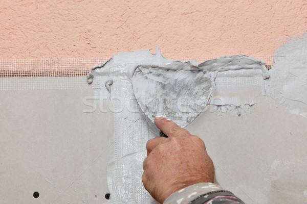 Plaster and gypsum Stock photo © simazoran