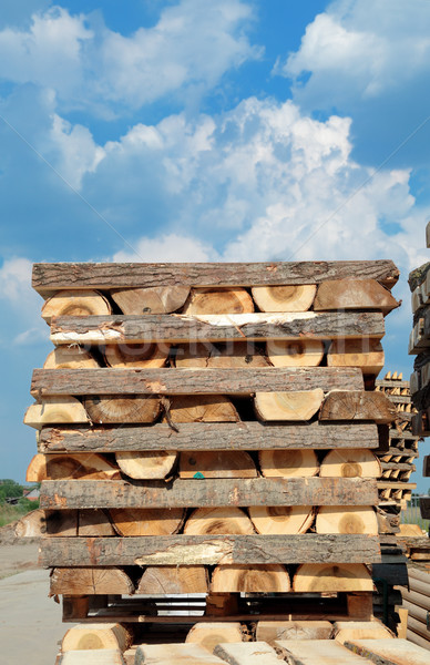 Lumber industry Stock photo © simazoran