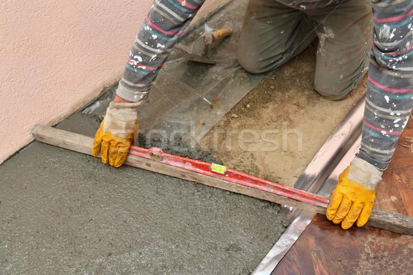 Home renovation, concrete Stock photo © simazoran