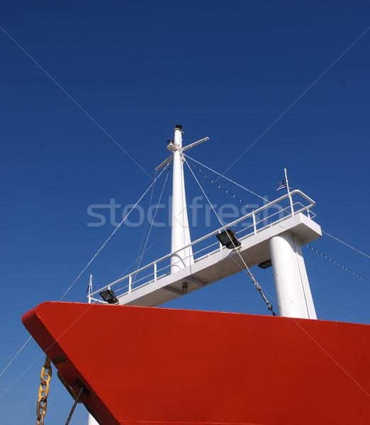 Red ship Stock photo © simazoran