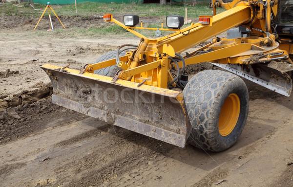 Construction Vehicle Stock photo © simazoran