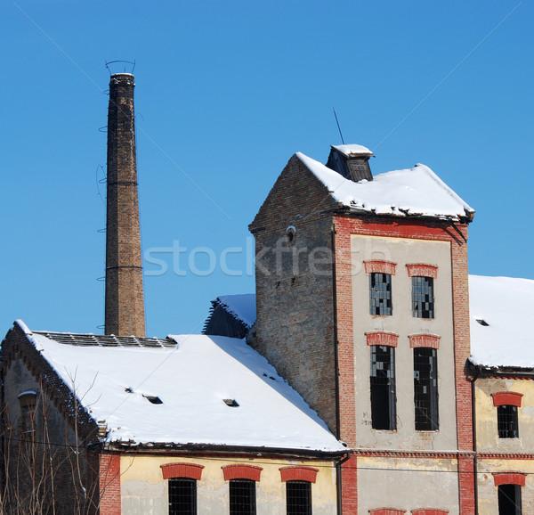 Old factory Stock photo © simazoran