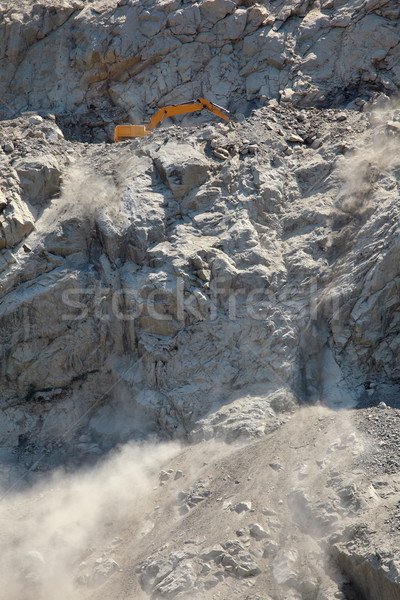 Stones excavation in mountain Stock photo © simazoran