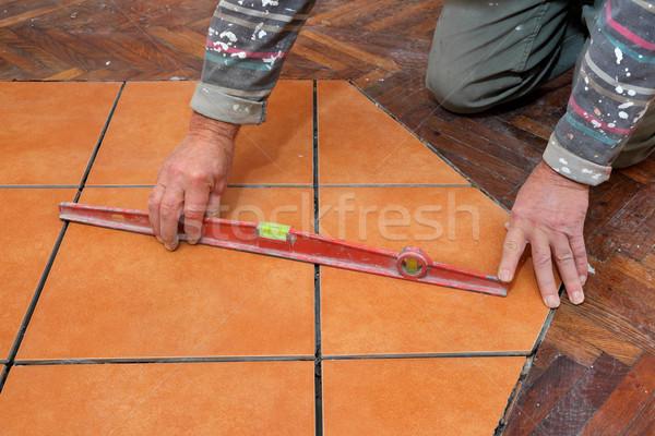 Home renovation tiles Stock photo © simazoran