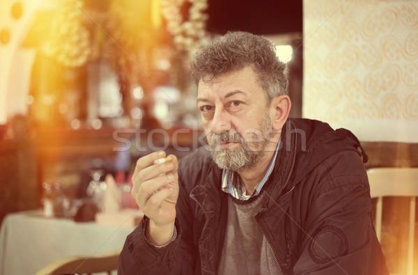 Smoking issues Stock photo © simazoran