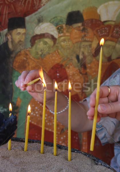 Monastery Stock photo © simazoran