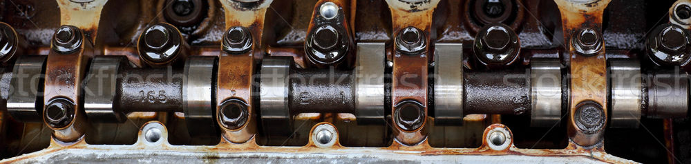 Automotive auto motore testa Foto d'archivio © simazoran