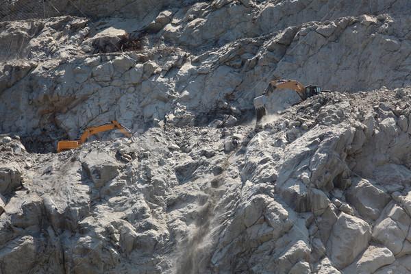 Stones excavation in mountain Stock photo © simazoran