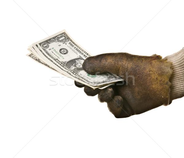 Money in hand Stock photo © simazoran