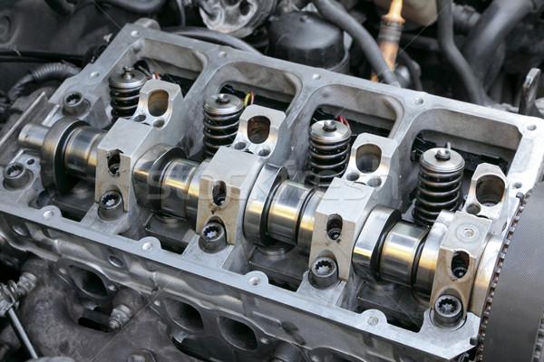 Auto motore moderno motore diesel primo piano Foto d'archivio © simazoran