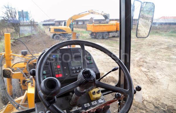 Construction equipment Stock photo © simazoran