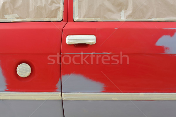 Car painting Stock photo © simazoran