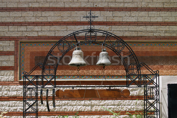 монастырь православный Салоники Греция Церкви архитектура Сток-фото © simazoran