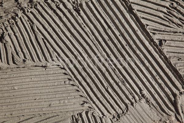 Csempe tapadó padló fal közelkép kész Stock fotó © simazoran