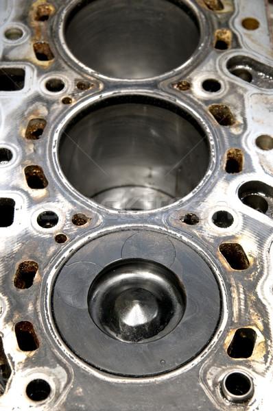Piston silindir delik teknoloji güç Stok fotoğraf © simazoran