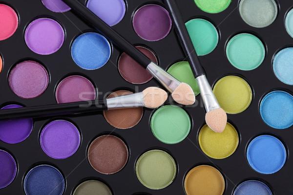 макияж красочный глаза Тени палитра Сток-фото © simazoran