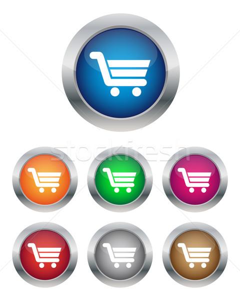 カート ボタン 色 ビジネス ストックフォト © simo988