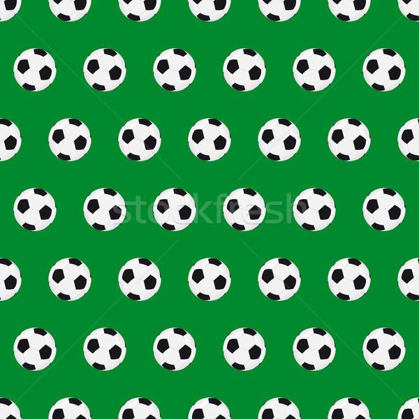 Futebol sem costura bola textura futebol fundo Foto stock © simo988