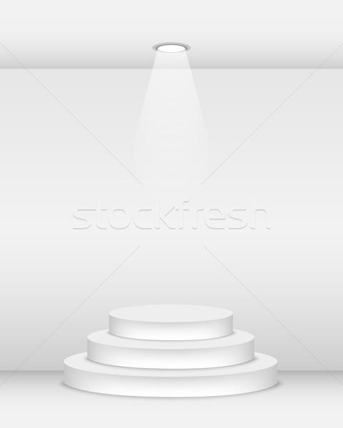 подиум пусто Spotlight свет дизайна Сток-фото © simo988