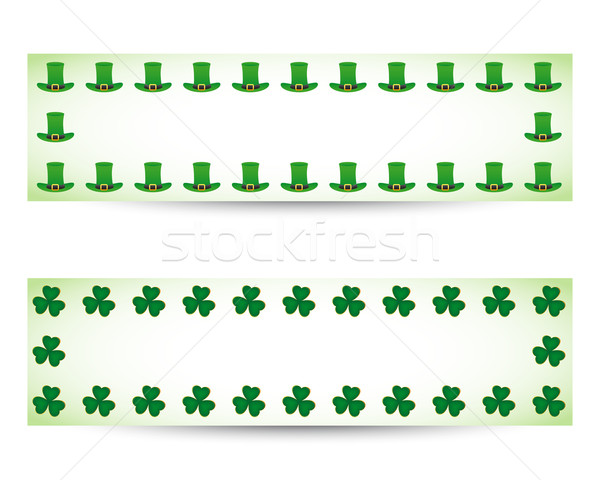 St. patrick's day banners Stock photo © simo988